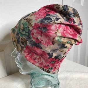 MUDD floral hat nwot